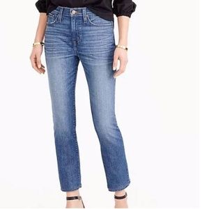 J Crew Straightaway Cropped Jeans